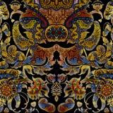Floral σκοτεινό αφηρημένο shabby χρωματισμένο υπόβαθρο Στοκ εικόνες με δικαίωμα ελεύθερης χρήσης