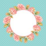 Floral στεφάνι Hydrangea Στοκ φωτογραφίες με δικαίωμα ελεύθερης χρήσης