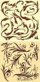 Floral στοιχεία απεικόνιση αποθεμάτων