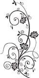 Floral στοιχείο σχεδίου Στοκ Φωτογραφίες