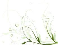 floral συμπαθητικός ανασκόπησης Στοκ Εικόνες