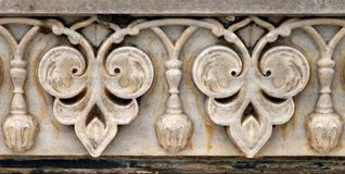 Floral σχέδιο στον τοίχο Taj Mahal σύνθετο Στοκ εικόνα με δικαίωμα ελεύθερης χρήσης