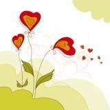 Floral σχέδιο Στοκ Φωτογραφίες