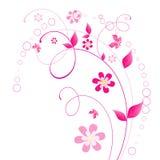 Floral σχέδιο απεικόνιση αποθεμάτων