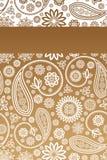 Floral σχέδιο καρτών Στοκ Εικόνα