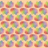 Floral σχέδιο φύλλων Στοκ Εικόνα