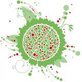Floral σχέδιο Στοκ φωτογραφία με δικαίωμα ελεύθερης χρήσης