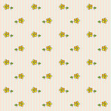Floral σχέδιο 4 Στοκ Εικόνα