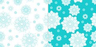 Floral σύνολο σχεδίων Στοκ φωτογραφία με δικαίωμα ελεύθερης χρήσης