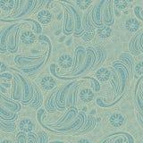 Floral σύσταση υποβάθρου doodle άνευ ραφής Στοκ εικόνα με δικαίωμα ελεύθερης χρήσης