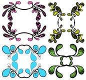 floral ταπετσαρία σχεδίου Στοκ Εικόνες