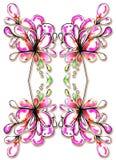floral ταπετσαρία σχεδίου Στοκ φωτογραφίες με δικαίωμα ελεύθερης χρήσης