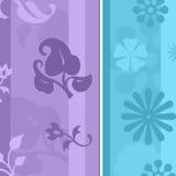 floral ταπετσαρία Στοκ Εικόνες
