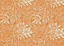 floral ταπετσαρία Στοκ εικόνα με δικαίωμα ελεύθερης χρήσης