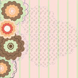 floral τρύγος ανασκόπησης Στοκ εικόνες με δικαίωμα ελεύθερης χρήσης