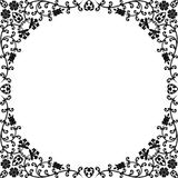 floral τρύγος πλαισίων Στοκ Φωτογραφίες