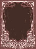 floral τρύγος πλαισίων Στοκ εικόνες με δικαίωμα ελεύθερης χρήσης