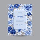 floral τρύγος πλαισίων Στοκ φωτογραφίες με δικαίωμα ελεύθερης χρήσης