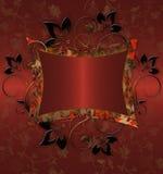 floral τρύγος Στοκ φωτογραφίες με δικαίωμα ελεύθερης χρήσης