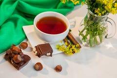 Floral τσάι Στοκ φωτογραφία με δικαίωμα ελεύθερης χρήσης