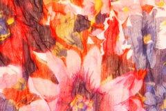 Floral τυπωμένη ύλη Στοκ φωτογραφία με δικαίωμα ελεύθερης χρήσης