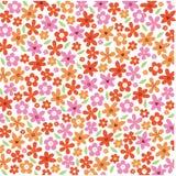 Floral υπόβαθρο λουλουδιών Garden Ελεύθερη απεικόνιση δικαιώματος