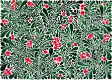 Floral υπόβαθρο στο watercolor Στοκ Φωτογραφία