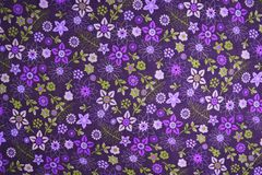 Floral υπόβαθρο υφάσματος σχεδίων Στοκ Εικόνες