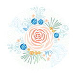Floral υπόβαθρο, peony Στοκ φωτογραφίες με δικαίωμα ελεύθερης χρήσης