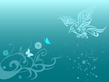 floral φύλλο indig αετών Στοκ φωτογραφία με δικαίωμα ελεύθερης χρήσης