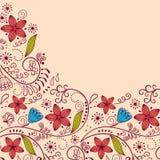 floral χαιρετισμός καρτών Στοκ εικόνες με δικαίωμα ελεύθερης χρήσης