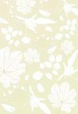 floral χρυσός ανασκόπησης Διανυσματική απεικόνιση