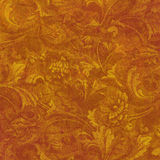 floral χρυσό grunge Στοκ Εικόνες