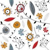 floral διάνυσμα προτύπων Στοκ Φωτογραφίες