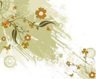 floral διάνυσμα Στοκ Φωτογραφία