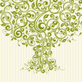 floral δέντρο Στοκ Εικόνα