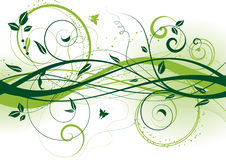 αφηρημένος floral Στοκ εικόνα με δικαίωμα ελεύθερης χρήσης