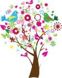 floral δέντρο Στοκ φωτογραφίες με δικαίωμα ελεύθερης χρήσης
