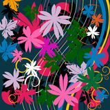 Floral. Beautiful floral composition , abstract art Royalty Free Stock Photography
