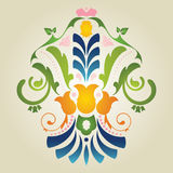 Floral. Illustration of beautiful colorful floral Stock Images