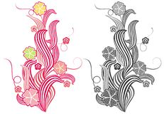 Floral image stock