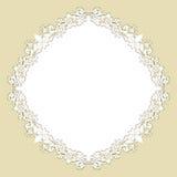floral κύκλος ανασκόπησης Στοκ Εικόνες
