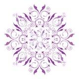 κλασσικό floral πρότυπο Στοκ Φωτογραφία