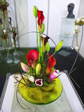 Βάζο λουλουδιών, Floral διακόσμηση Στοκ Φωτογραφία