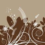αφηρημένο floral μοτίβο Στοκ Φωτογραφία