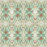 Εκλεκτής ποιότητας αφηρημένο κεραμίδι υποβάθρου με το floral μοτίβο στα μαλακά χρώματα κρητιδογραφιών Στοκ εικόνα με δικαίωμα ελεύθερης χρήσης