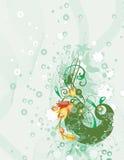 έξοχος floral ανασκόπησης Στοκ Εικόνες