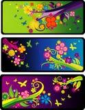 αφηρημένο floral διάνυσμα Στοκ εικόνες με δικαίωμα ελεύθερης χρήσης