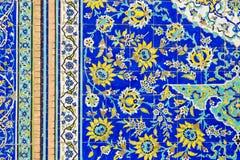 Υπόβαθρο με τις ασιατικές floral διακοσμήσεις Στοκ Εικόνα