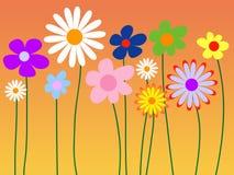 αφηρημένη ανασκόπηση floral Στοκ Φωτογραφίες